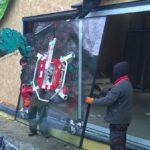 montaż okien tarasowych